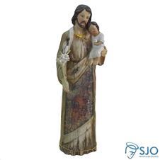 Imagem de resina São José - Modelo 2 - 30 cm