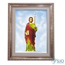 Quadro - S�o Judas Tadeu - 52 cm x 42 cm