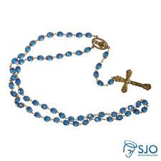 Terço de Nossa Senhora das Graças Azul