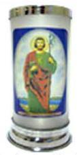 Porta Vela Jateado - São Judas Tadeu