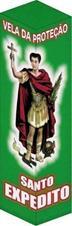Vela de Proteção - Santo Expedito