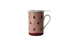 Imagem - Mug Cylinder Dente de Leão Vermelha 65142