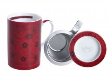 Mug Cylinder Rajasthan Vermelha