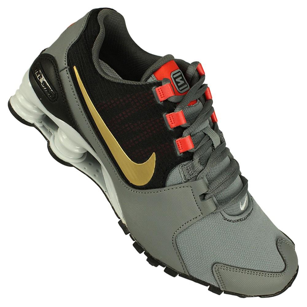 Tênis Nike Shox Avenue Masculino Cinza