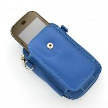 Carteira Mini Bolsa Feminina Porta Celular e Documentos Tansversal  em Couro Legítimo D'Lucca 2036