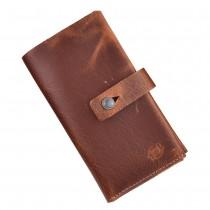 Carteira para Celular e Porta Cartões de Couro Legítimo FASOLO K633-002