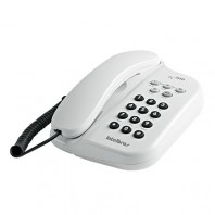 TELEFONE TC 500 BRANCO FUN��ES FLASH, TOM, MUTE, PAUSE, REDIAL