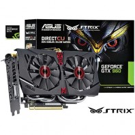 Placa de V�deo Asus Geforce Nvidia Gtx 960 Strix Oc Edition 2gb 128bits Gddr5 Strix-Gtx960-Dc2oc-2gd5