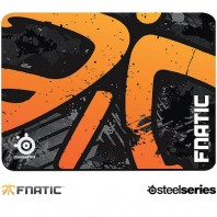 Mouse Pad SteelSeries Qck + Fnatic Asphalt Edition