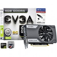 Placa de V�deo Evga Geforce Nvidia Gtx 960 Superclocked 4gb 128bits Gddr5 04G-P4-3962-KR