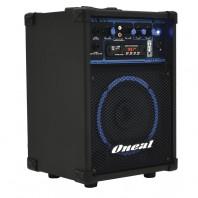 Caixa Amplificada Oneal Ocm190 Box Line Pot�ncia 40w Rms Usb Sd Fm