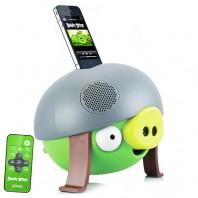 Caixa de Som 2.1 Gear4 PG543G Helmet Pig Angry Birds 30w RMS com Dock Station e Conex�o P2 3,5mm