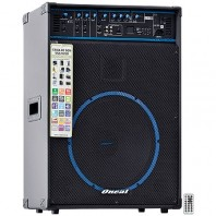 Caixa de Som Amplificada Oneal Ocm1090 Usb Sd Fm 150w Rms