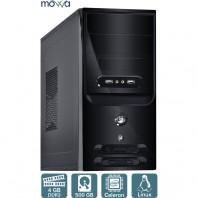Computador Desktop Movva Lite Intel Celeron Dual Core 2.41ghz Mem. Ram 4gb Hd 500gb - Mvlij18005004