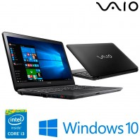 Notebook Vaio Vjf153b0111b Fit 15f I3-5005u 1tb 4gb 15,6 Led Windowns10 Usb - Preto