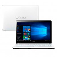 Notebook Vaio Vjf153b0311w Fit 15f I5-5200u 1tb 8gb 15,6 Led Windows10 - Branco