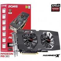 Placa de V�deo Pcyes Radeon R9 380 Hammer x Dual-fan Oc Edition 2gb Gddr5 256 Bits PH38025602D5OC