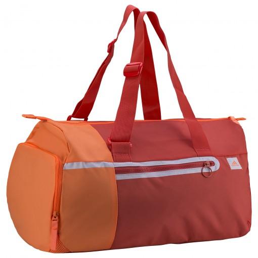 Bolsa Feminina Adidas Tote Perf Ess W : Bolsa adidas tote perf ess w treino e corrida laranja