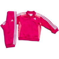 Agasalho Adidas 3S Knit FZ Infantil
