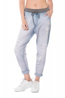 Calça Live Boyfriend Light Jeans Gym