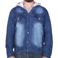 Jaqueta VLCS Jeans C/ Capuz