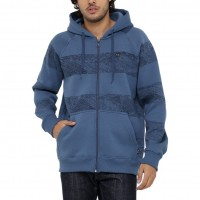 Moletom Oakley Ocean Stripe F/Z Fleece