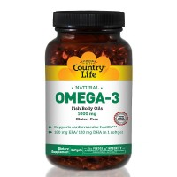 Omega 3 1000Mg - 50 Sofgels - Country Life