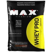 Whey PRO Refil Max Titanium 1,5kg Chocolate