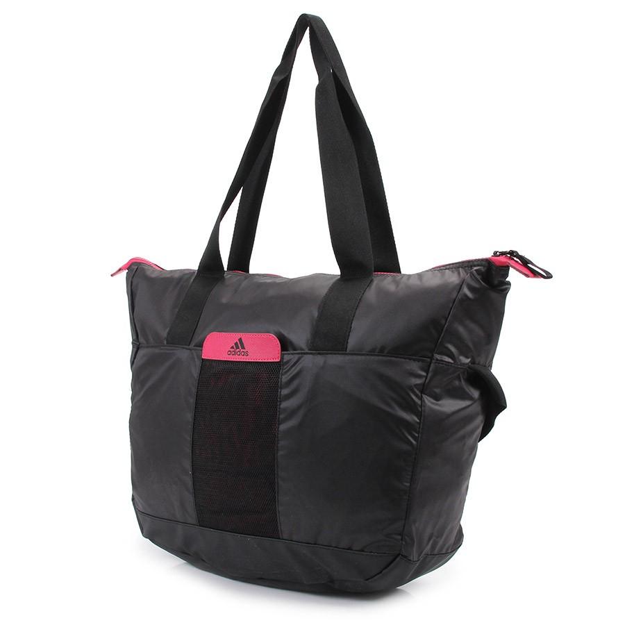 Bolsa Feminina Adidas Tote Perf Ess W : Bolsa adidas tote perf ess w treino e corrida preto