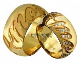 Imagem - Aliança Seven Premium CAL1090/DAL1090 AU18K/750