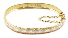 Imagem - Bracelete em Ouro 12k/416au Tricolor