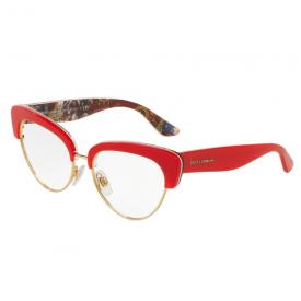 Imagem - Óculos de Grau Dolce & Gabbana Sicilian Caretto