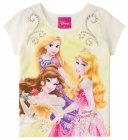 Blusa com estampa da Disney Princesas - Brandili - 040555