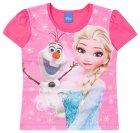 Blusa com estampa da Elsa e Olaf - Brandili - 040431