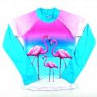 Blusa kids Giovana flamingo - Siri
