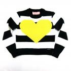 Blusa Tricot Listrada Coração Pituchinhu's - 038094
