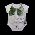 Body Cotton Gatinha Princesa Pituchinhu's Mini - 033183