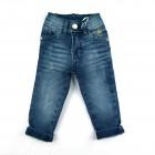 Calça jeans com lavagem - Piang Pee