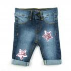 Calça Jeans com Patches Pituchinhu's Mini - 038085
