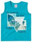 Camisa regata com estampa do mar - Brandili - 040579
