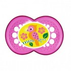 Chupeta Cristal Mam Girls 6 Meses Mam - 031299 / 031300