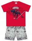 Conj camiseta e bermuda Homem Aranha - Brandili - 040569
