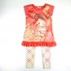 Conjunto Blusa Cotton e Legging em Neoflex Infanti - 034928
