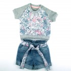 Conjunto Blusa e Shorts it Girl Sleeping Pill - 034765
