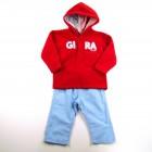 Conjunto Blusão Micro Soft e Calça Gira Baby - 028004
