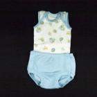 Conjunto Body Com Tapa Fralda Baby Fashion - 035255