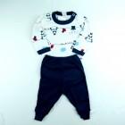 Conjunto Body Panda e Calça Lisa Baby Duck - 038847/038848