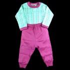 Conjunto Body Poá e Calça Lisa Baby Duck - 038840/038841