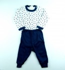 Conjunto Body Ramos e Calça Lisa Baby Duck - 038850