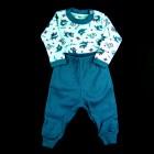 Conjunto Body Tubarão e Calça Lisa Baby Duck - 038851/038852/038853